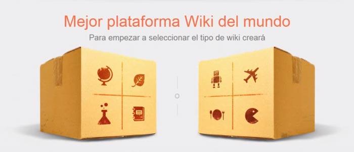 Cómo crear un Wikispace